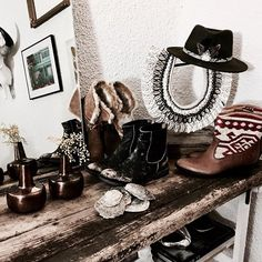 Perfect Winter essentials ❤ Hat @1977_ibiza  Faux fur boots @toms  Ripped boots @matisse_footwear  Kiboots @thekindreds  Totally in love with all those pieces ❤❤❤ Happy evening babes  . #littlebohoblog #blogger #bohostyle #bohemian #hippie #gypsy #hat #bohohat #ibiza #boots #bohoboots #winter #december #love #fashionblogger #winteressentials