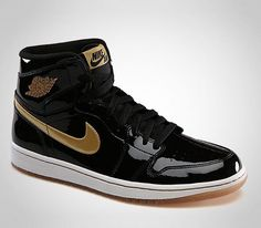 Air Jordan I Retro High OG-Black-Metallic Gold
