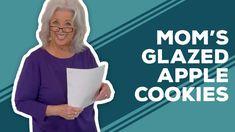 Apple Cookies, Fall Cookies, Fall Cookie Recipes, Apple Glaze, Fresh Apples, Paula Deen, Best Dishes, Mom, Dean