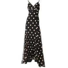 Bias Cut Tulle Gown c. 1930s
