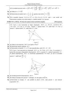 Subiecte Simulare - Evaluare Nationala 2019 - proba la Matematica - clasa a VIII-a Algebra, Sheet Music, Blog, Model, Music Score, Blogging, Models
