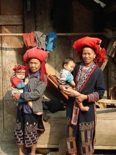 Red Zao People, northern Vietnam