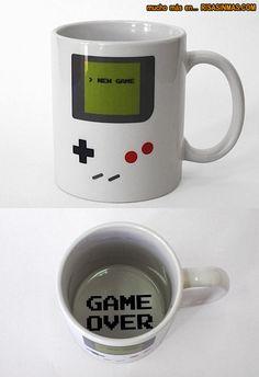 Taza de café Nintendo Game Boy
