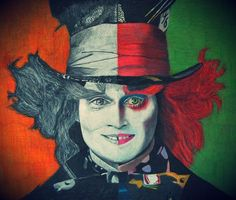 Madhatter - Color pencil