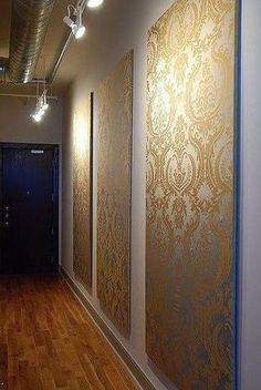 Auf diese Seite erkennen Sie, wie kann man die wunderschöne Wandbilder aus Tapeten selber machen. Schauen Sie mal diese Anleitung...