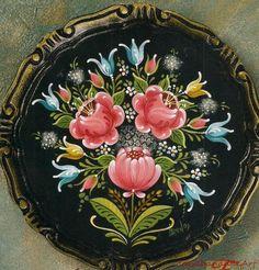 bawlernmaleri painting | BRAVURA BAUERNMALEREI BY CARL LARSON ROSEMALING MAGAZINE ARTICLE ...