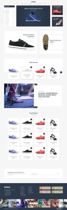 Stock - eCommerce PSD Template by Designercafee | ThemeForest