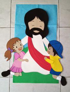 Resultado de imagen para jesus en goma eva