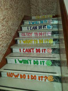 escaleras con mensaje - Buscar con Google