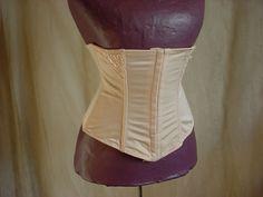Curvation Waist Nipper Cincher size 2 XL Shape wear Beige w Lace #Curvation #WaistCinchers Seller florasgarden on ebay