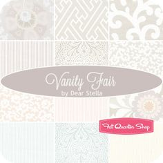 Vanity Fair Fat Quarter Bundle Dear Stella Fabrics - Fat Quarter Shop