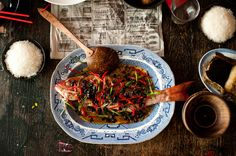 ✈ Sichuan Steamed Whole Fish - Chinese food that was appropriate for a New Year feast. Fish is one of the must have dish for Chinese New Year means the wealth richness of the new year.