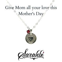 Remember to let Mom know how much she means to you this Mother's Day. Go to www.Sarahbi.com or click on the link in my bio. . . . #Sarahbi #charmjewelry #silverjewelry #jewelry #jewellery #shopsmall #instafashion #artisanjewelry #sharethelove #tagandshare #instalove #igfashion #igstyle #instastyle #igjewelry #instajewelry #delicatejewelry #artisan #handmade #handcrafted #instafashion #minimalist #indie #gifts #instagood #amulet #mothersday #heart #love #heart
