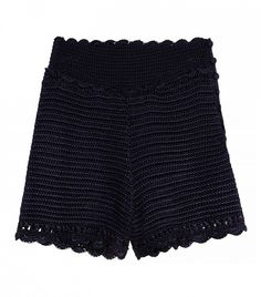 H&M Crocheted Lace Shorts