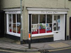 The Curious Otter Bookshop, Ottery St Mary, Devon.