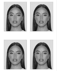 Makeup Inspo, Makeup Inspiration, Beauty Makeup, Hair Makeup, Hair Beauty, Pretty People, Beautiful People, Passport Pictures, How To Pose