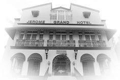 The Jerome Grand Hotel... used to be an asylum and is rumored to be extremely haunted. Located in Jerome, Arizona.