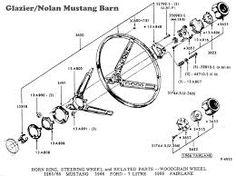 STEERING COLUMN BEARING, 1967-73 Mustang (tilt wheel