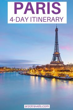 Are you planningy our Paris trip? Then check out this Paris itinerary with many travel tips - find out where to stay, how to get around and many more travel tips and of course, find out about the best things to do in Paris in 4 days.