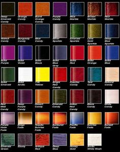 color chart toyota auto paint search auto paint color charts car paint colors
