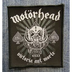 NEW IN STOCK! Official Motörhead Official Merchandise Product SEW-On-Patch VICTORIA AUT MORTE http://ift.tt/1OJi10o