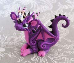 Purple dragon clay