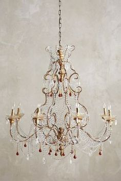 Crystal vine sphere chandelier trendy lighting with crystals lighting crystal radomira chandelier anthropologie anthropologie aloadofball Image collections