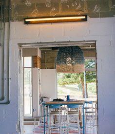 Coogee Pavillion - Coogee Beach - My Kiki Cake -Sydney Food Blog - Knitted chandelier