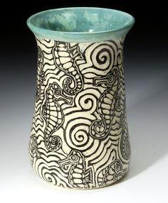 Bass River Pottery   Sgraffito