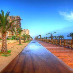 Gandia beach, Valencia