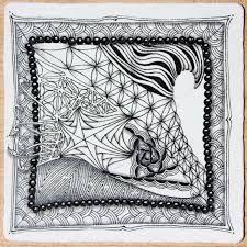 Image result for zentangle tile