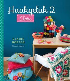Claire Boeter ken je al van haar kleurrijke haakwerk in de serie Haken & Kleur en door haar laatste boek Haakgeluk. In Haakgeluk 2 gaat ze nog een stapje verder. Ze combineert het vrolijke byCl…