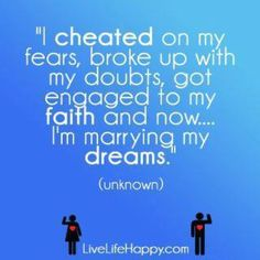 Cheat, break up, get engaged and marry