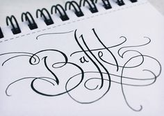 Calligraphy & Arts by Fernando Forero, via Behance