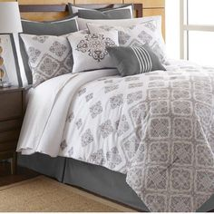 Wayfair.com - Online Home Store for Furniture, Decor, Outdoors & More | Wayfair Salina 8 Piece Comforter Set in Mauve & Ivory by Amrapur Overseas Inc. $80.99 Free Shipping List Price: $249.99 You Save: $169.00 (68%) Rewards:  Get 3% Back ?