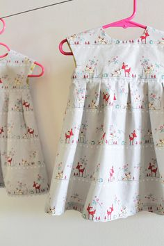 geranium dress ready to ship size 612 mos by imaginegnats on Etsy, $45.00