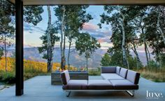 """These """"27 Spring-Ready Patios and Porches"""" from Luxe. are absolutely stunning. Can you imagine sitting outside with family and friends in these beautiful settings?"""