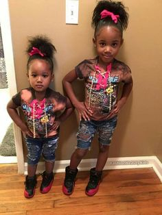 Cute Black Babies, Beautiful Black Babies, Cute Baby Girl, Beautiful Children, Cute Babies, Baby Kids, Kid Swag, Baby Swag, Cute Kids Fashion