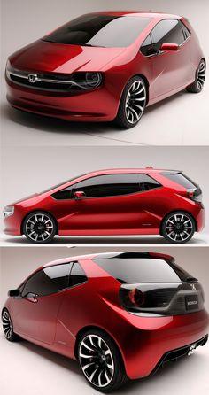 El GEAR Concept de #Honda podría ser el próximo city car de la empresa japonesa.
