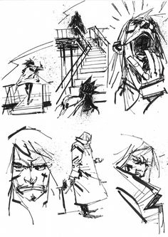 Metal Gear Solid Comic Art