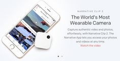 Narrative clip for design research. #Technology http://getnarrative.com/