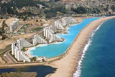 La piscina más grande del mundo está en Algarrobo, Chile