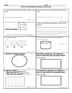 second grade common core math worksheets geometry 2 g a 1 2 g a 2 2 g a 3 math math. Black Bedroom Furniture Sets. Home Design Ideas