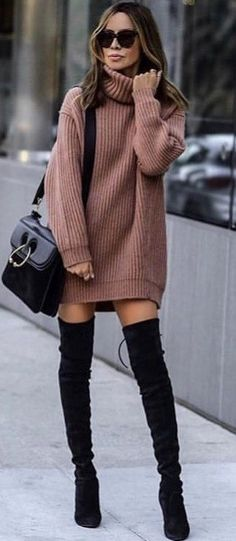 beautiful sweater dress