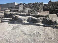 Restos delTemplo Mayor. Cd de Mexico