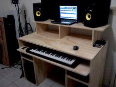 My DIY Recording Studio Desk - Gearslutz.com