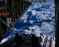 My dream, the back of a C-130. Dear God, this is at the top of my bucket list... can you help me out with this one?