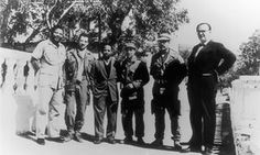 Ex-CIA spy admits tip led to Nelson Mandela's long imprisonment  Photo: Nelson Mandela, left, stands with the commanders of the Algerian Army in 1962.