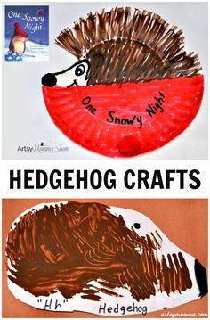 Hedgehog Crafts for