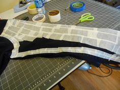 Seams Well: Tape, Tape, Tape. Copying a pair of jeans.
